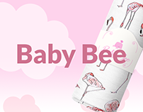 Baby Bee landing page concept