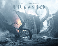 Two Steps From Hell - Unleashed - Poster And Packaging