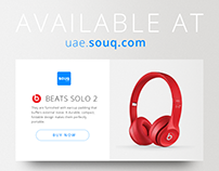 Beats  Widget - U.I Design