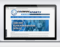 Cosmos Sports website banners