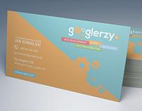 Business card for googlerzy.pl