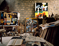 Studio of Le Corbusier