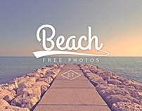 Free Beach Stock Photo Set