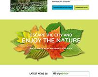 Parco Avventura Il Gigante - Web Site Restyling