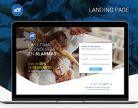 ADT Landing Page
