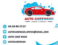 Cartes de visite Autocarewash