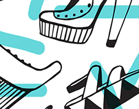 Memphis Milano-Shoe Pattern