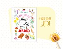 Meu guia de confeitaria ARNO   Confectionary guide