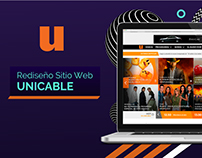 Rediseño Sitio Web Unicable
