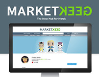 Thinkgeek Marketplace Website Design