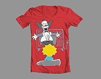 Simpsons Threadless Competiton