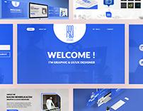 Personal Website UI/UX Design