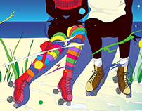 80's roller skate