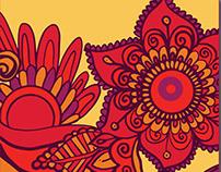 Swirl & Twirl Wallpaper