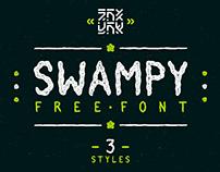 Free Swampy Grungy Handmade Font Family