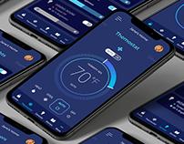 UI Design for Smart Home App