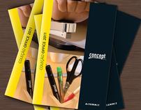 2011 Concept product catalogue