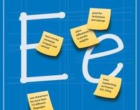 Tekton Font Promotional Booklet