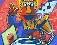 Nicolo Nimor x Sesame Street: Louie
