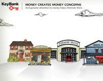 KeyBank: Money Needs Attention Microsite