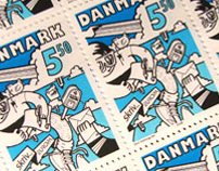 Stamps for the Danish Postal Service