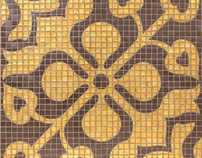 """Andalusia"" mosaics for Sonite Innovative Surfaces"