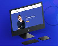 Partex- Personal Portfolio, resume/CV PSD Template