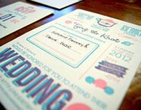 Sarena + Richard Wedding Invitations