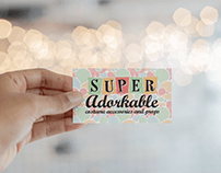 Super Adorkable Logo and Branding