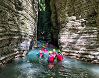 Stretti di Giaredo trekking fluviale