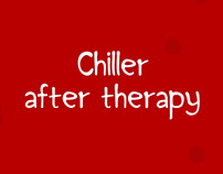 Chiller after therapy | font design