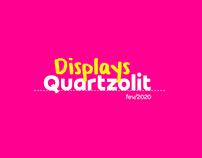Displays Quartzolit - Campanha Linha Limpadores