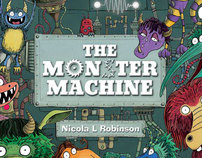 The Monster Machine - Picture Book by Nicola L Robinson