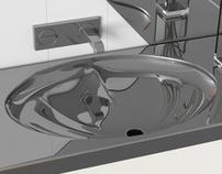 Shark - Bathroom Sink