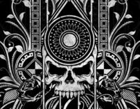 JD Emblem Stencil