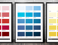 Spectrum Posters - Life in colour swatches