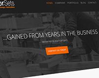 Erector Sets, Inc. Website Design