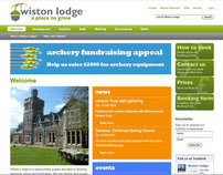 Wiston Lodge • website design
