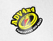 ADV4x4 logo design