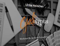 Responsive Webdesign for a graphic designer