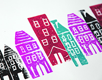 Village Block Prints