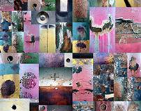 """CORROSION"", collage, 2017"
