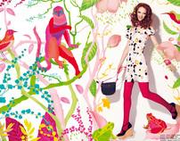"Fashion Editorial - ""Moteris"""