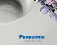 Panasonic Wet & Dry Shavers. Interactive Ad