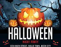 Halloween Flyer/ Banner Template