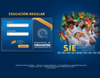 Consultoria Interfaces Web | Ministerio de Educación