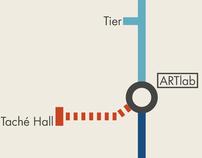 University Underground Map