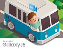 Samsung Galaxy J5 Packaging