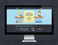 iWriter Web Design
