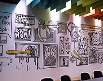 Fork Media Wall Murals